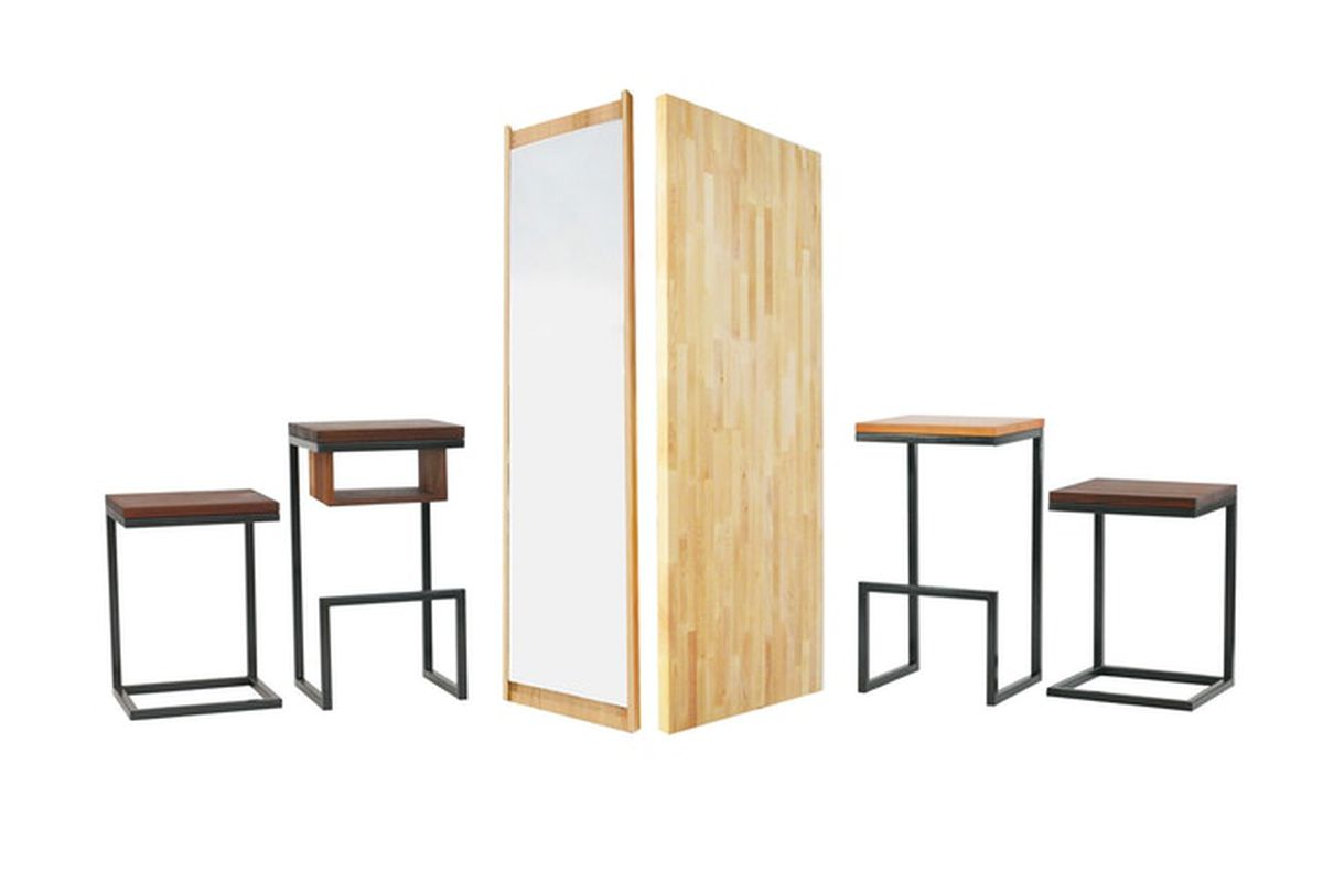 Collection of furniture items