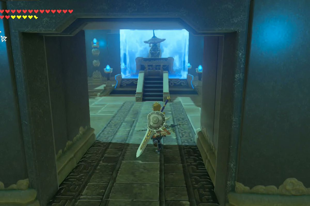Zelda Breath Of The Wild Guide Gee Harah Shrine Location
