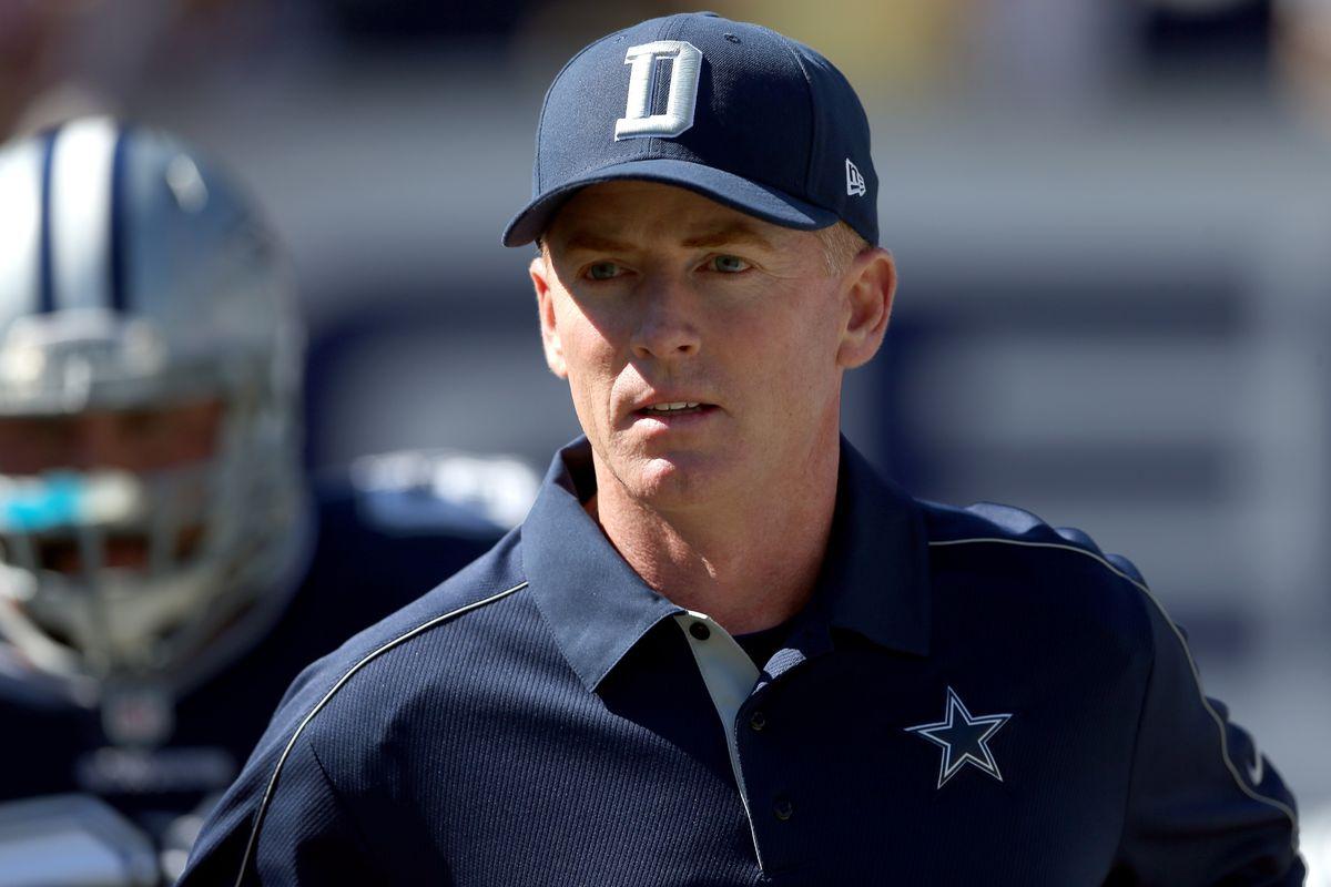 Dallas Cowboys' coach Jason Garrett.