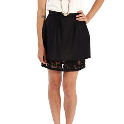 """<b>Cameo</b> Lost At Home Skirt, <a href=""""http://onanyc.com/products/lost-at-home-skirt"""">$128</a> at O.N.A."""