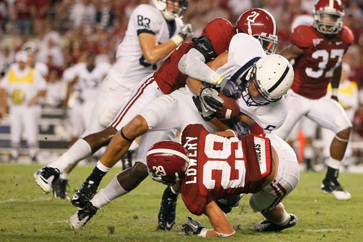 Can Penn State manage more than one offensive touchdown on the Crimson Tide defense?