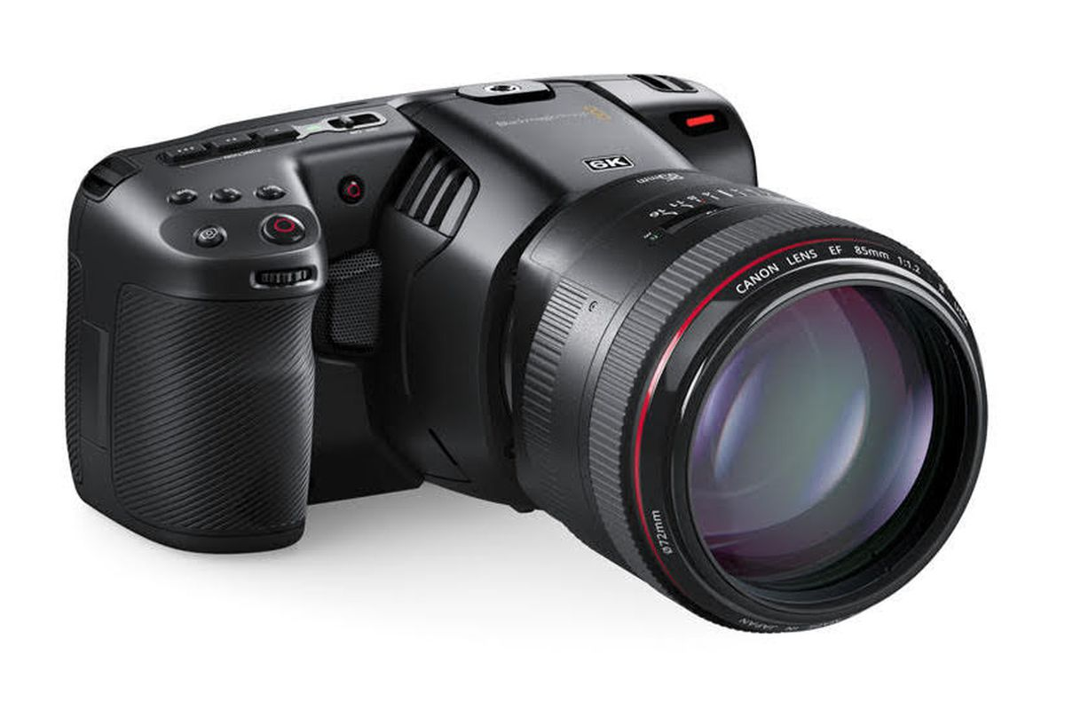 Blackmagic Announces Pocket Cinema Camera 6k The Verge