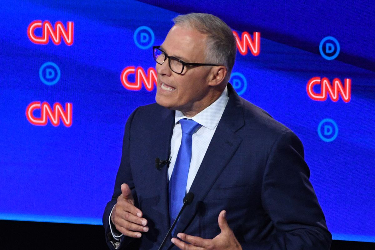 2019 Democratic debate: Why Jay Inslee picked a fight with Joe Biden