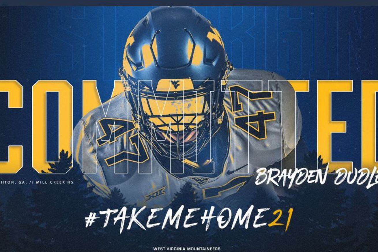 Huge Georgia DL Commits to Mountaineers