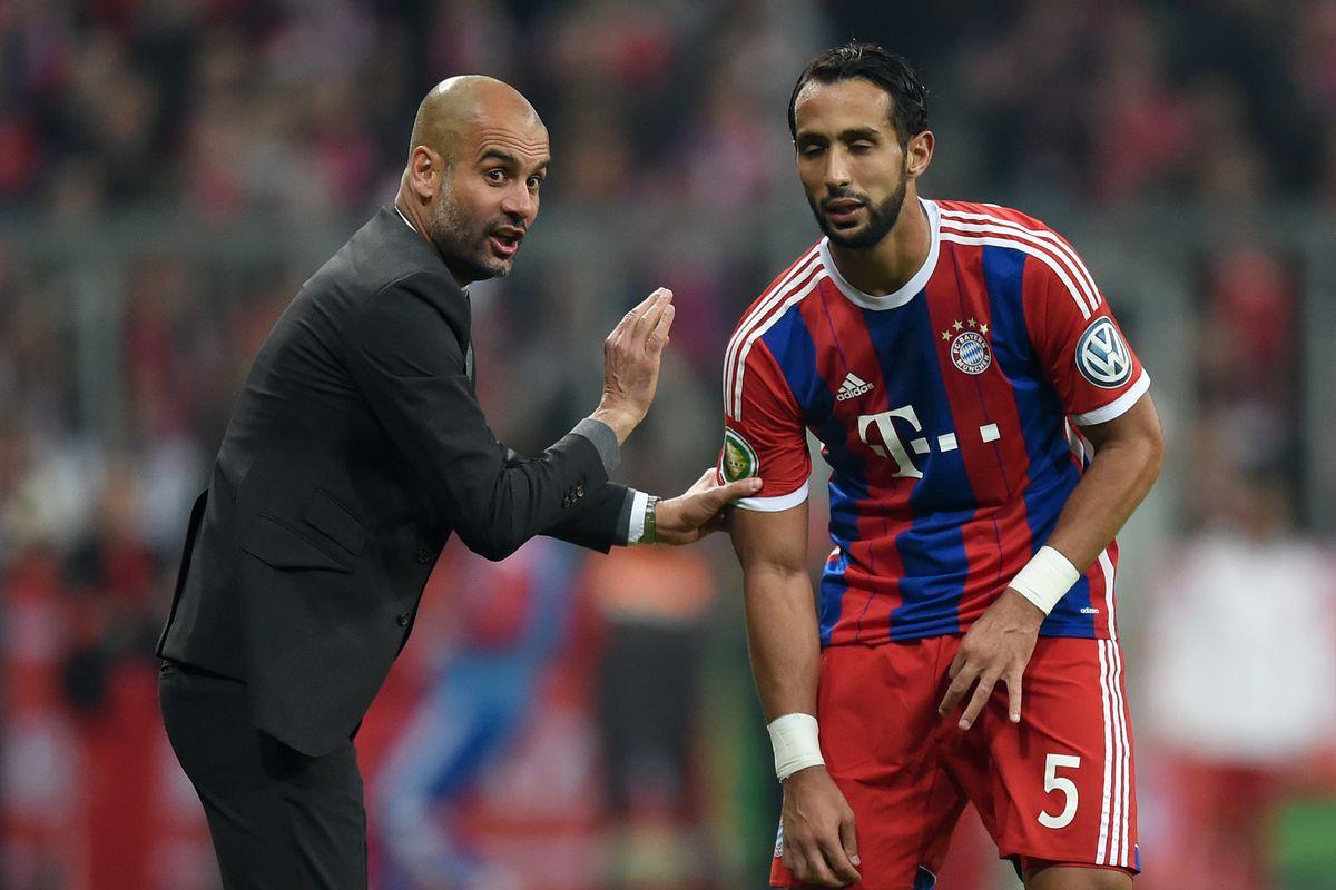 Fussball DFB Pokal Halbfinale 14/15: FC Bayern Muenchen - Borussia Dortmund