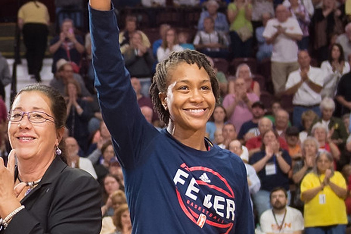 Tamika Catchings, Indiana Fever