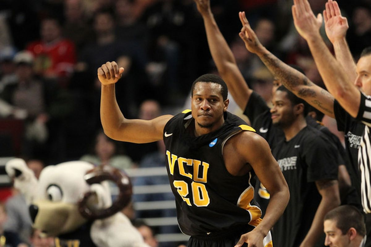 You have earned your moment, VCU (Photo by Jamie Squire/Getty Images)