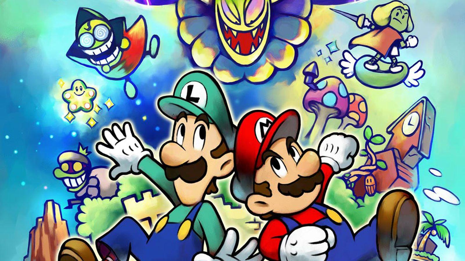 Mario And Luigi Superstar Saga Data Found On Nintendo 3ds