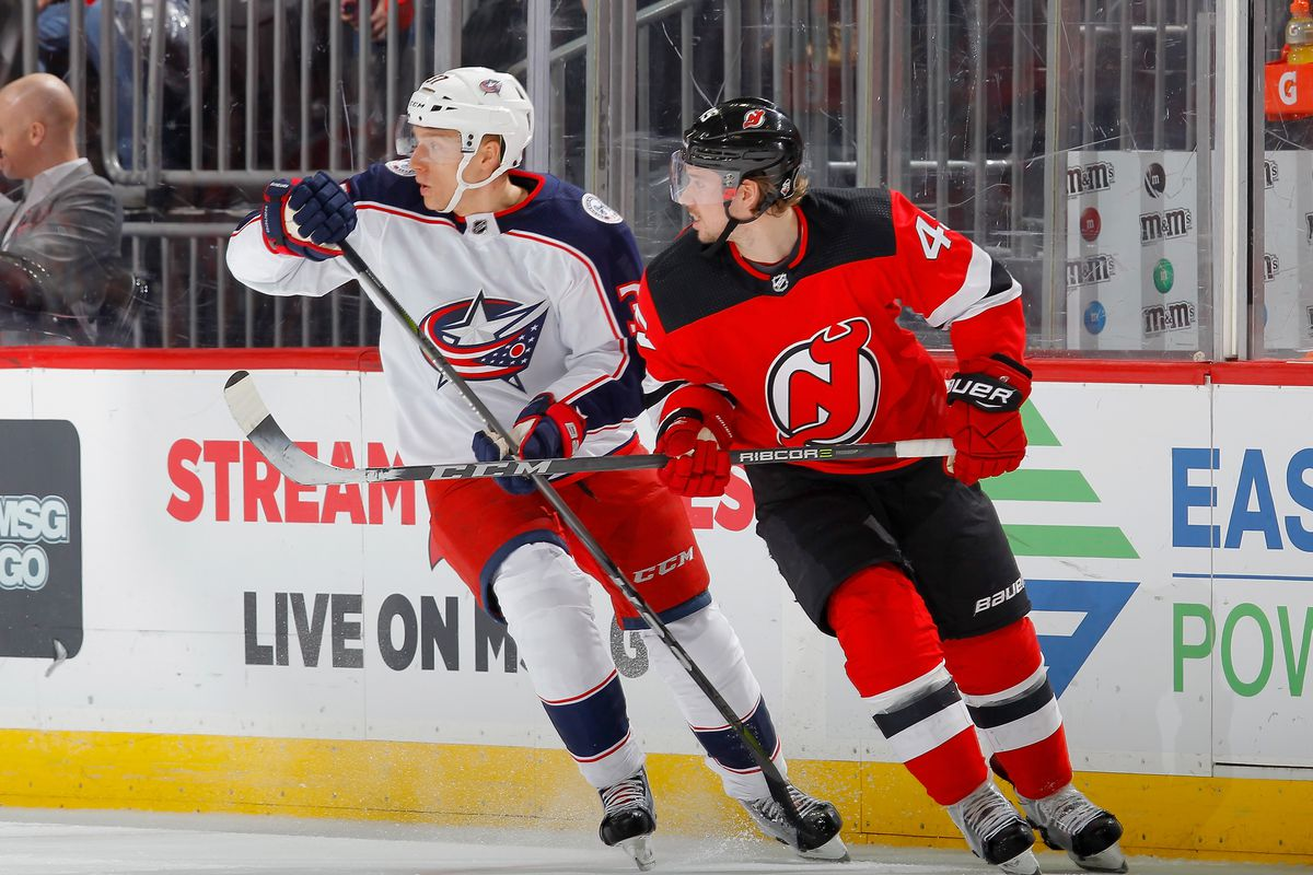 Game  34  Blue Jackets Close Out Homestand vs Devils - The Cannon fe22ca934