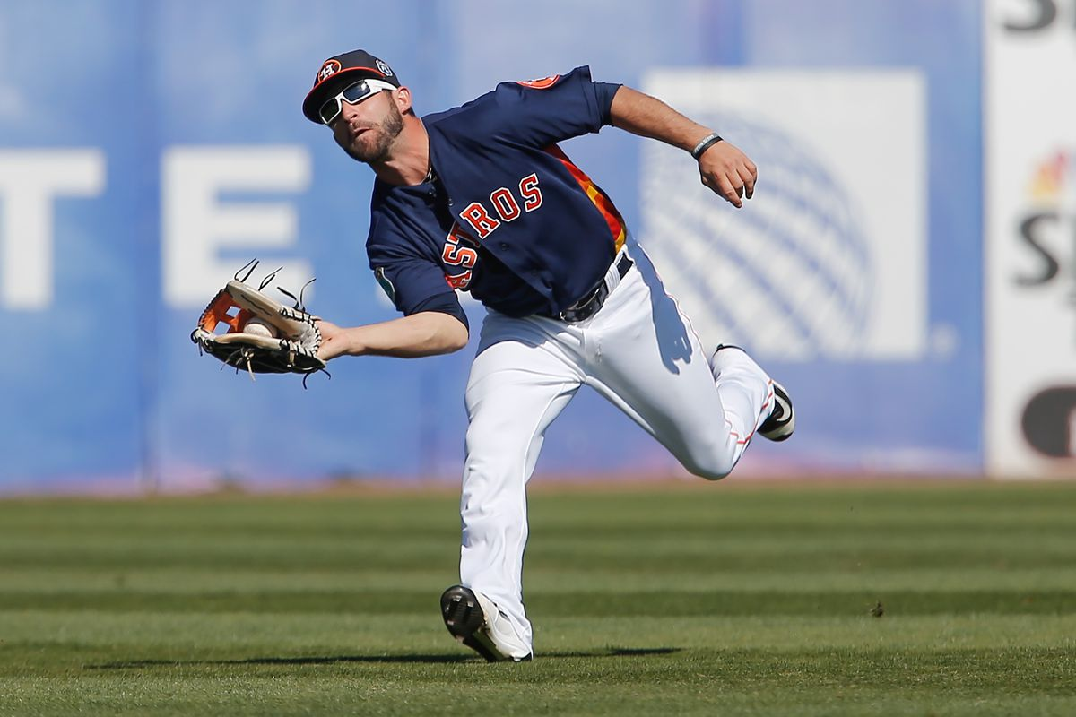 Andrew Aplin (pictured) and Jon Kemmer each made spectacular defensive plays in the outfield in a losing effort for Fresno.