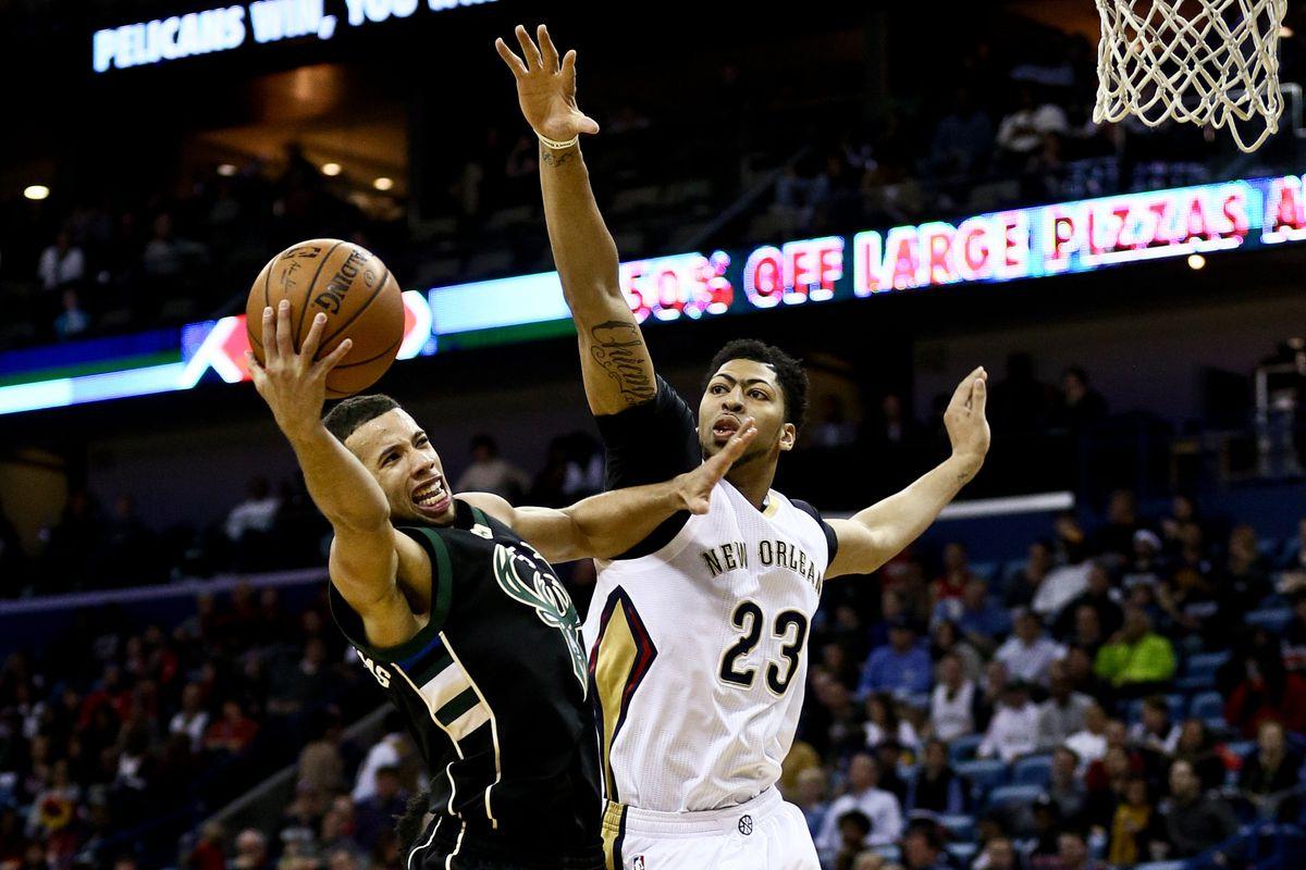 NBA: Milwaukee Bucks at New Orleans Pelicans