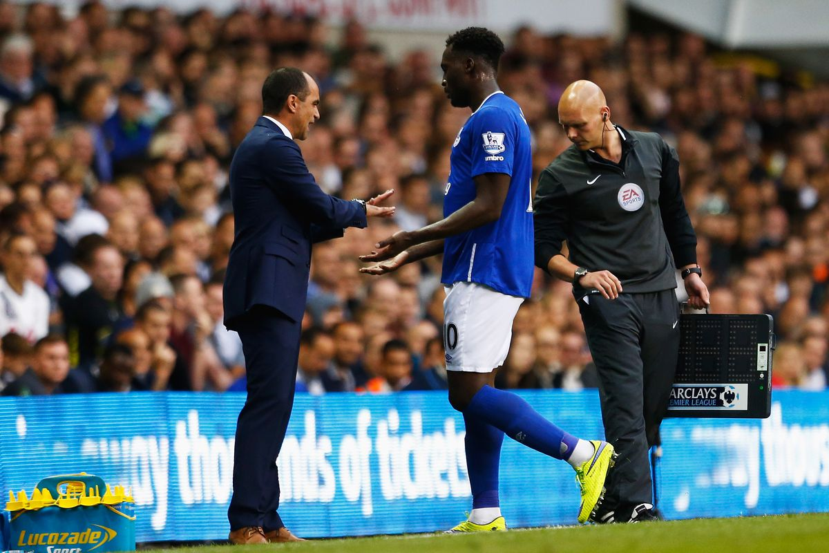 I hope this is Roberto Martinez apologizing for asking Romelu Lukaku to play wide so frequently.