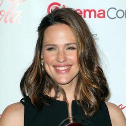 Actress Jennifer Garner arrives at the CinemaCon 2012 Big Screen Achievement Awards to receive the Female Star of the Year Award, Thursday, April 26, 2012, in Las Vegas.