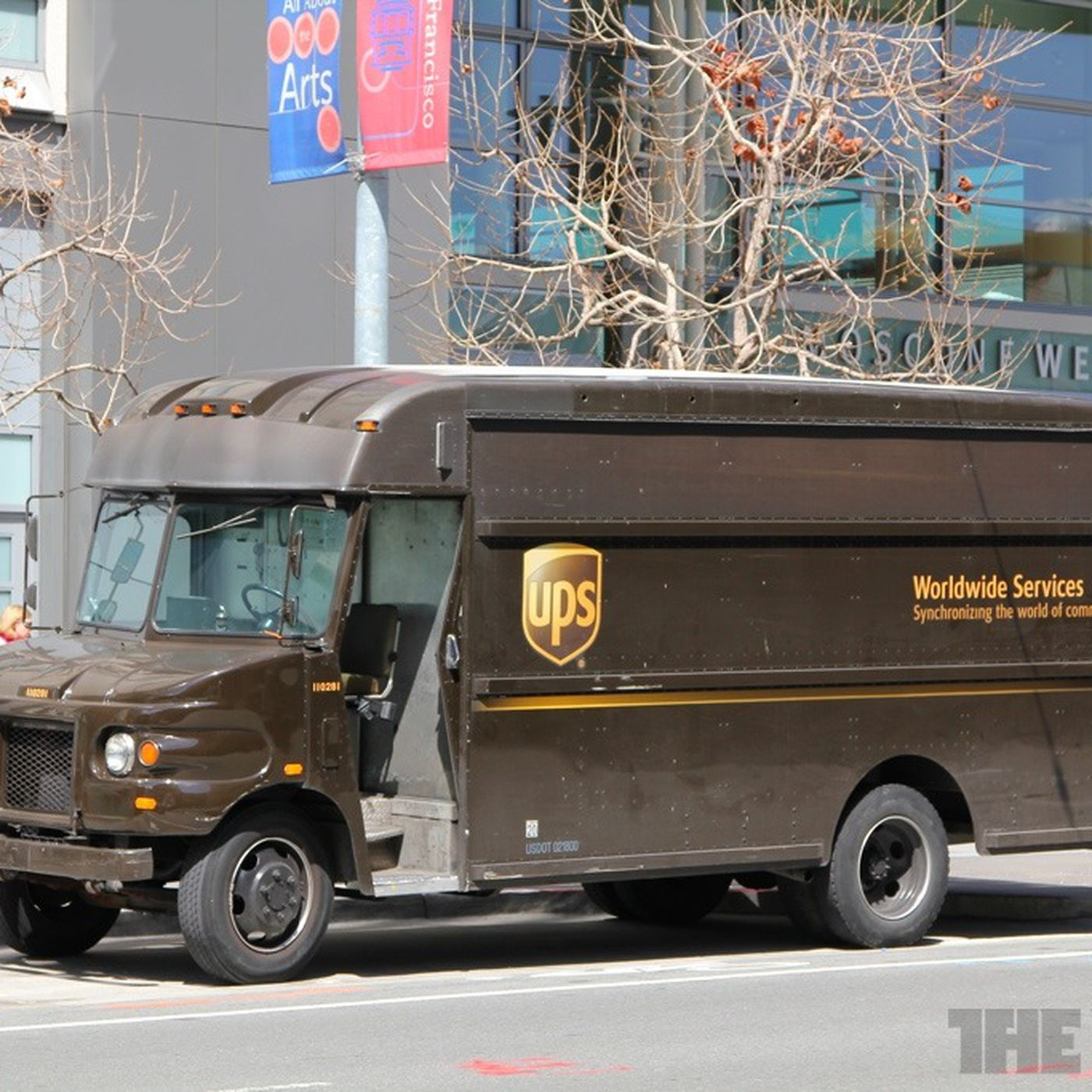 UPS is hoping to convert most of its New York City fleet from sel