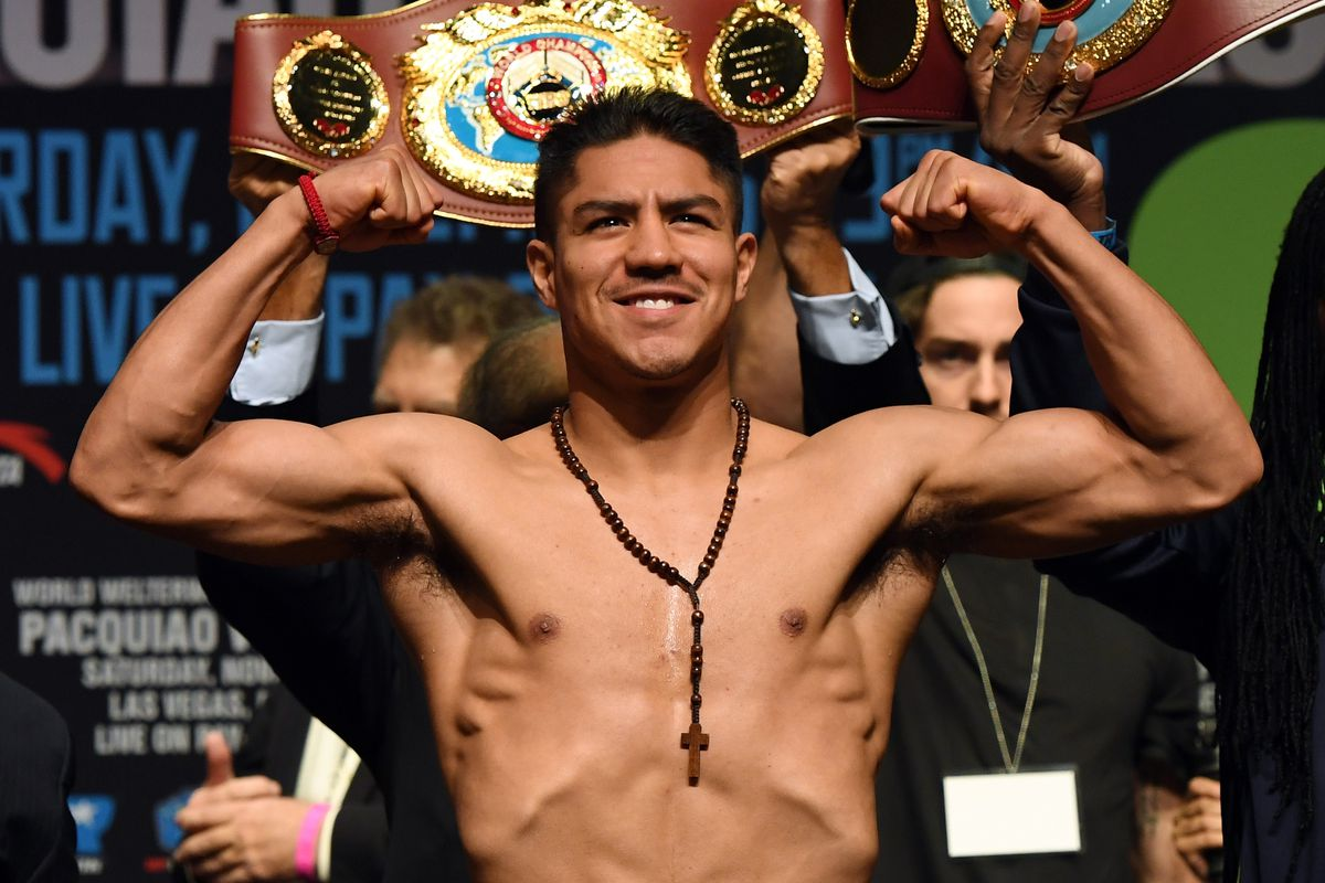Manny Pacquiao v Jessie Vargas - Weigh-in