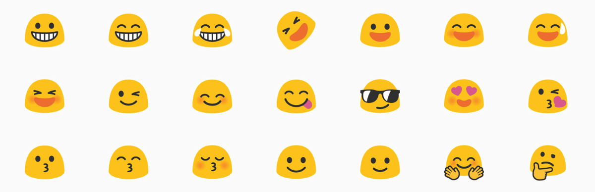 Google Is Finally Replacing Its Bad Emoji Blobs In Android O The Verge