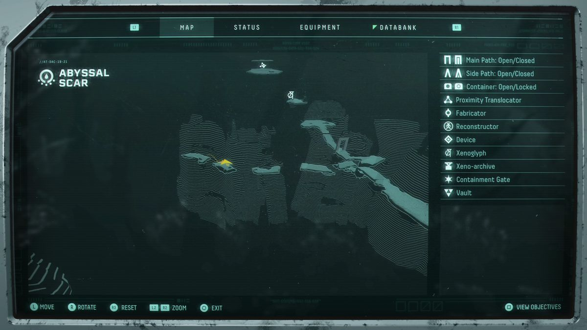 Abyssal Scar Sunface Fragment map location