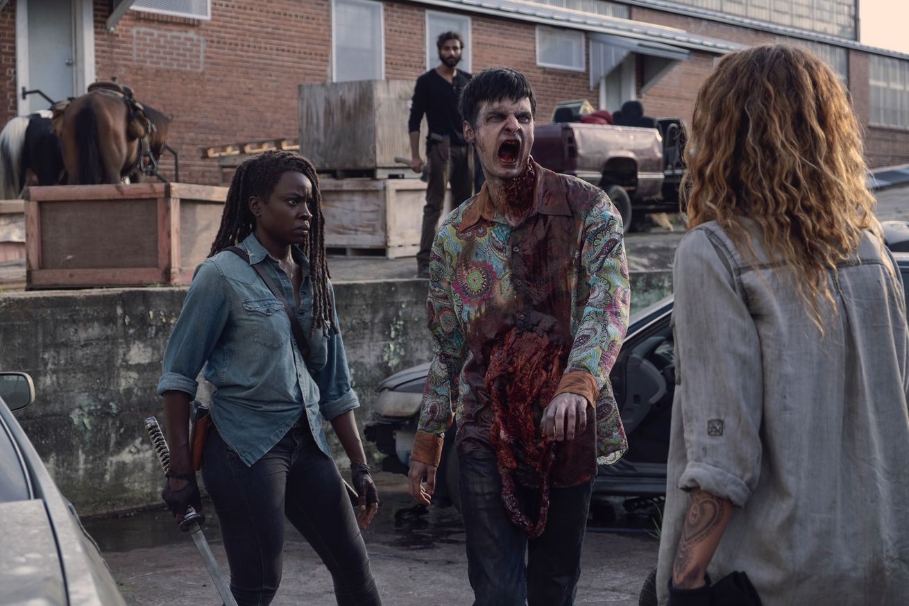 the walking dead finds its groove without rick grimes