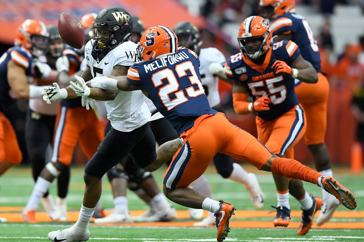 Updated Win Loss Projections For Syracuse Football S New 2020 Schedule Troy Nunes Is An Absolute Magician