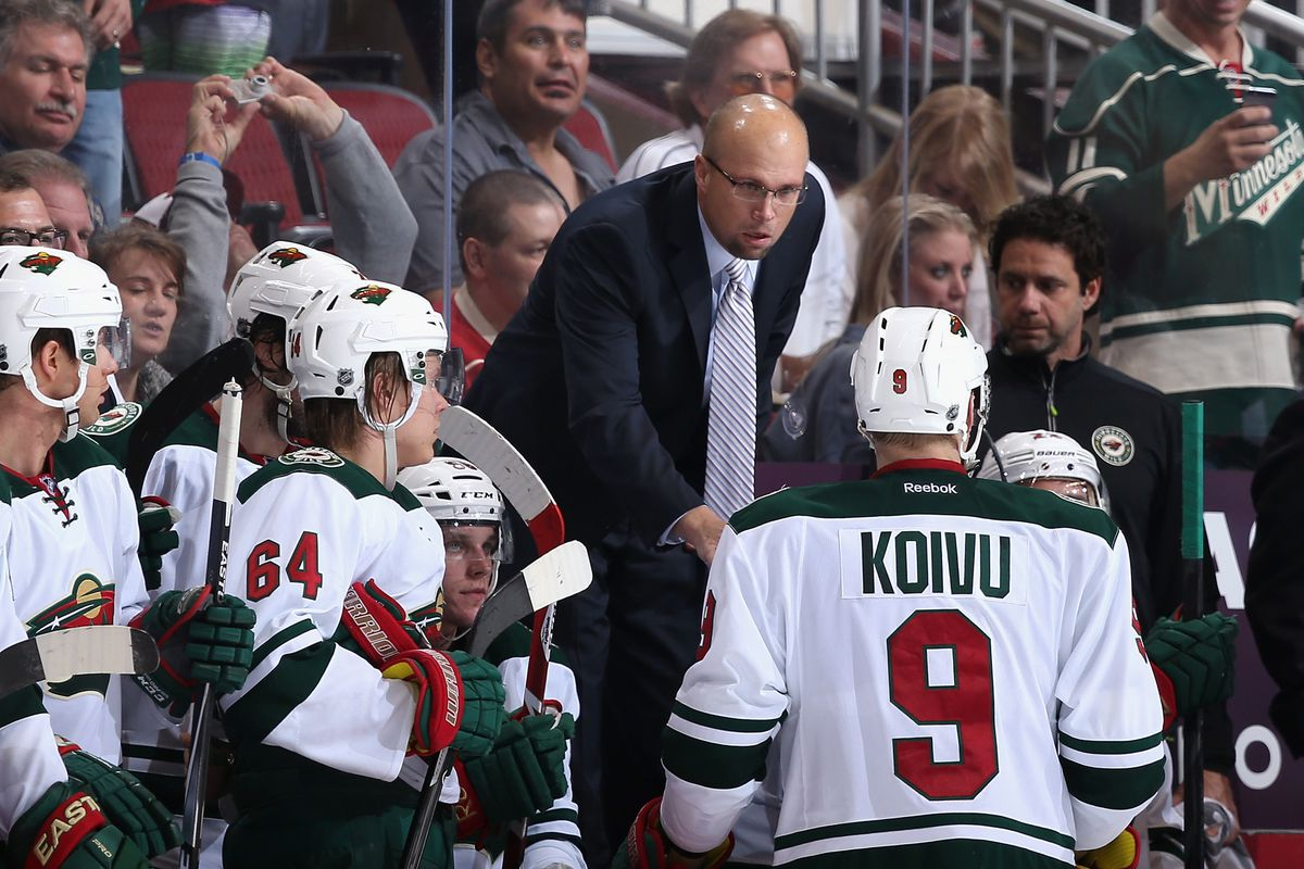 Mike Yeo has helmed a playoff team for two straight seasons now.