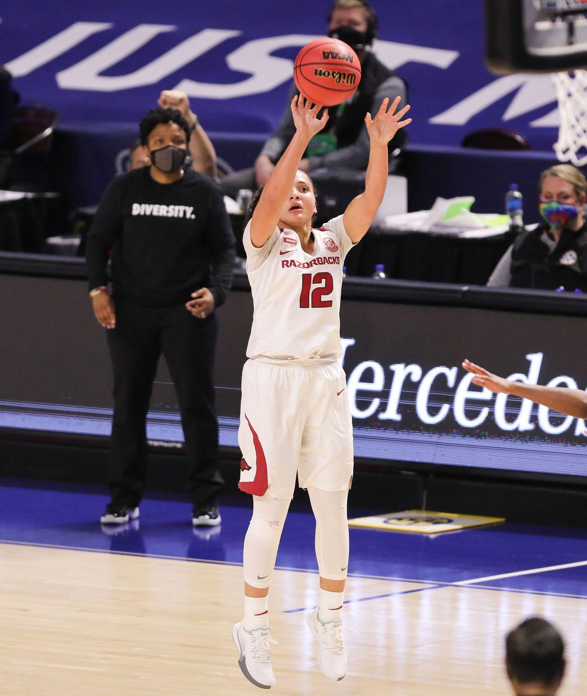 NCAA Womens Basketball: SEC Conference Tournament- Ole Miss vs Arkansas