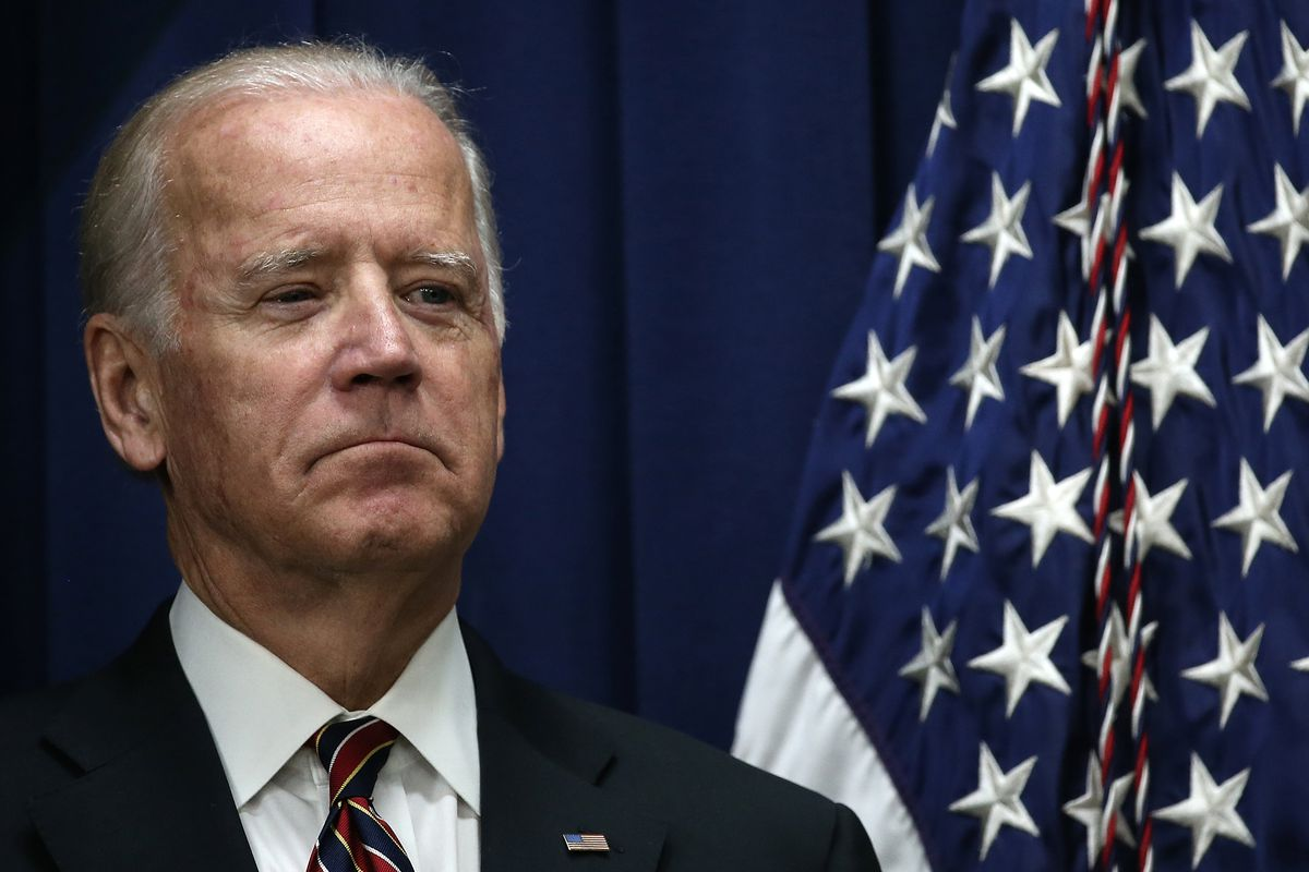 Joe Biden Addresses White Summit on Climate Change And Business