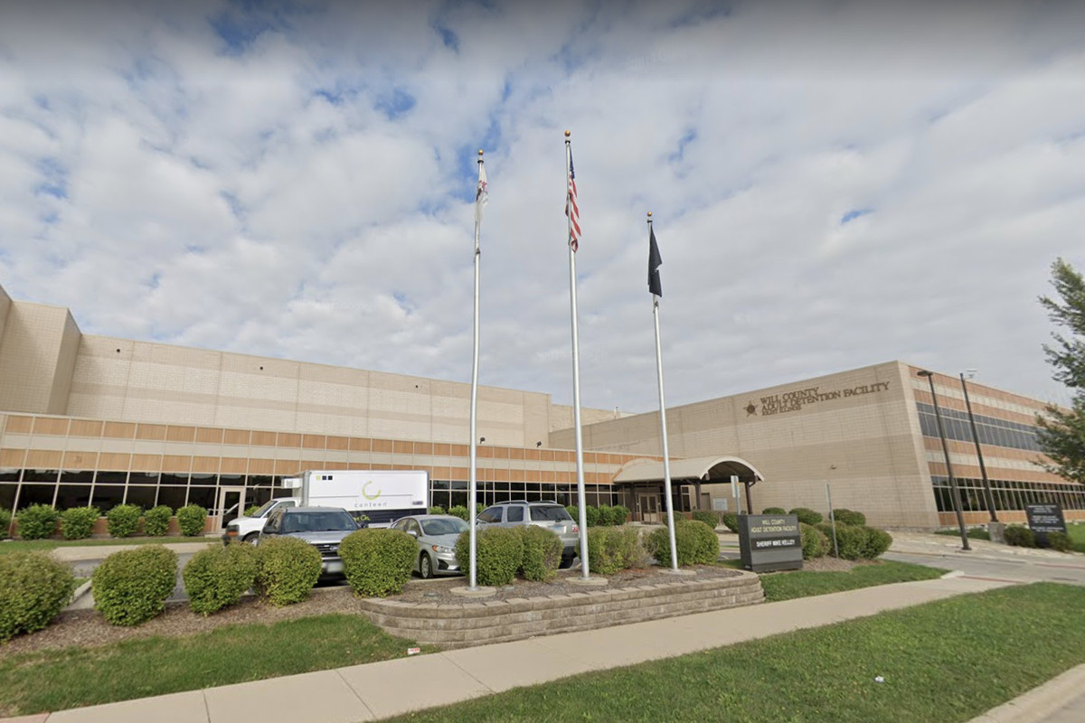 An inmate at the Will County Jail tested positive for the coronavirus June 8, 2020.