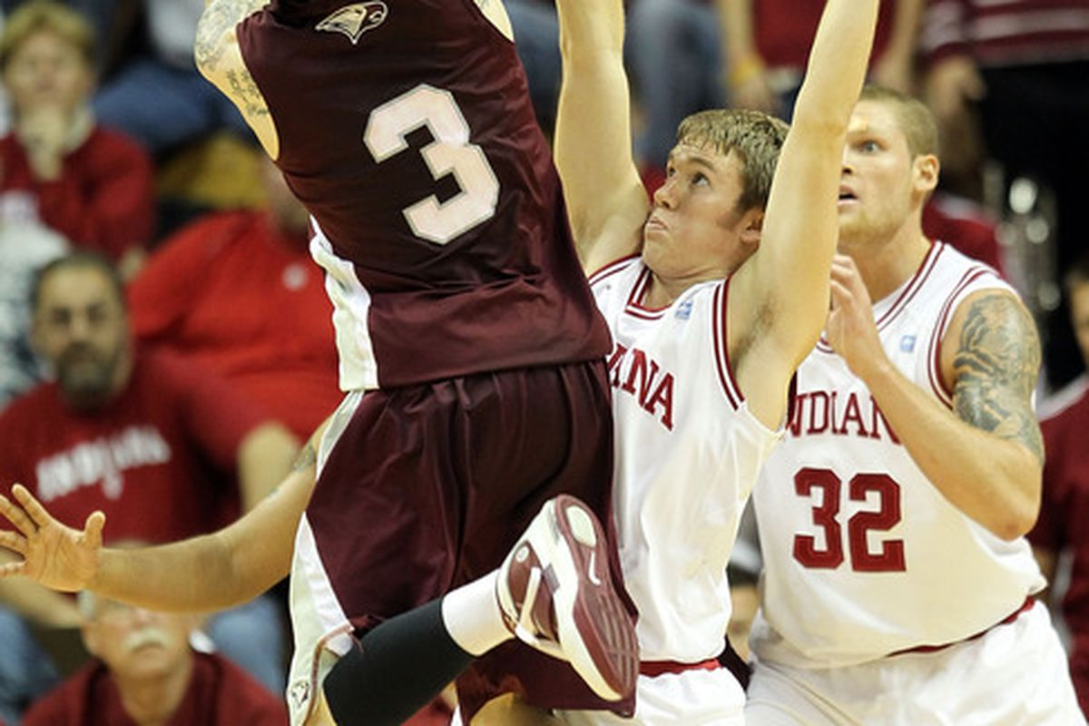 Here's NC Central playing Indiana in 2010, before NC Central was a full member of Division 1. Just sayin'.