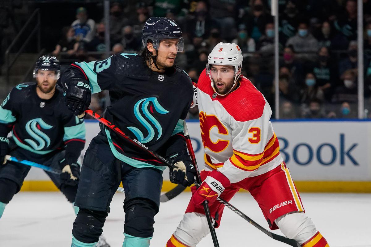 Calgary Flames v Seattle Kraken
