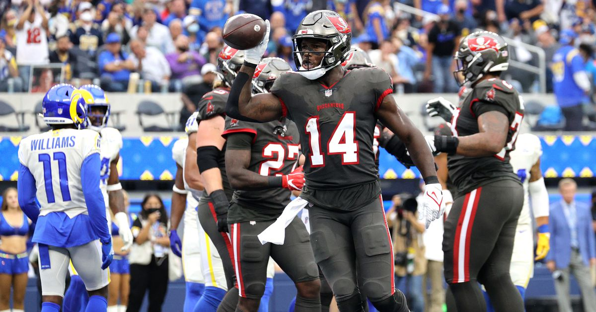 Notes and stats from the Buccaneers 34-24 loss to the Rams