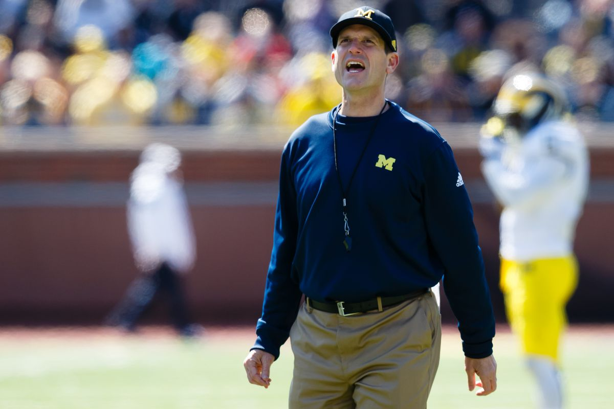 Harbaugh lost the Jug the last time he had a chance to win it....lets keep it that way.