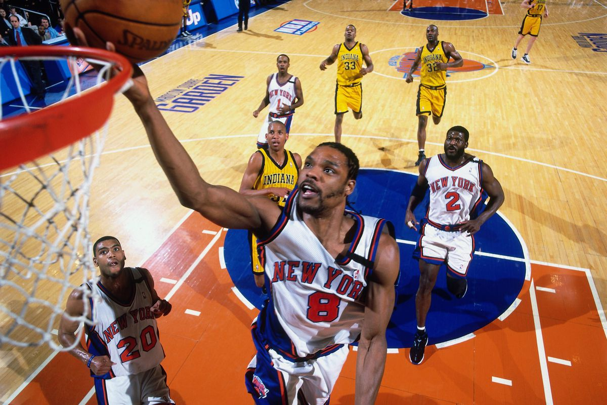 The playoffs rarely go well for sevenths and eighth seeds. The '99 Knicks (pictured here) were an exception.