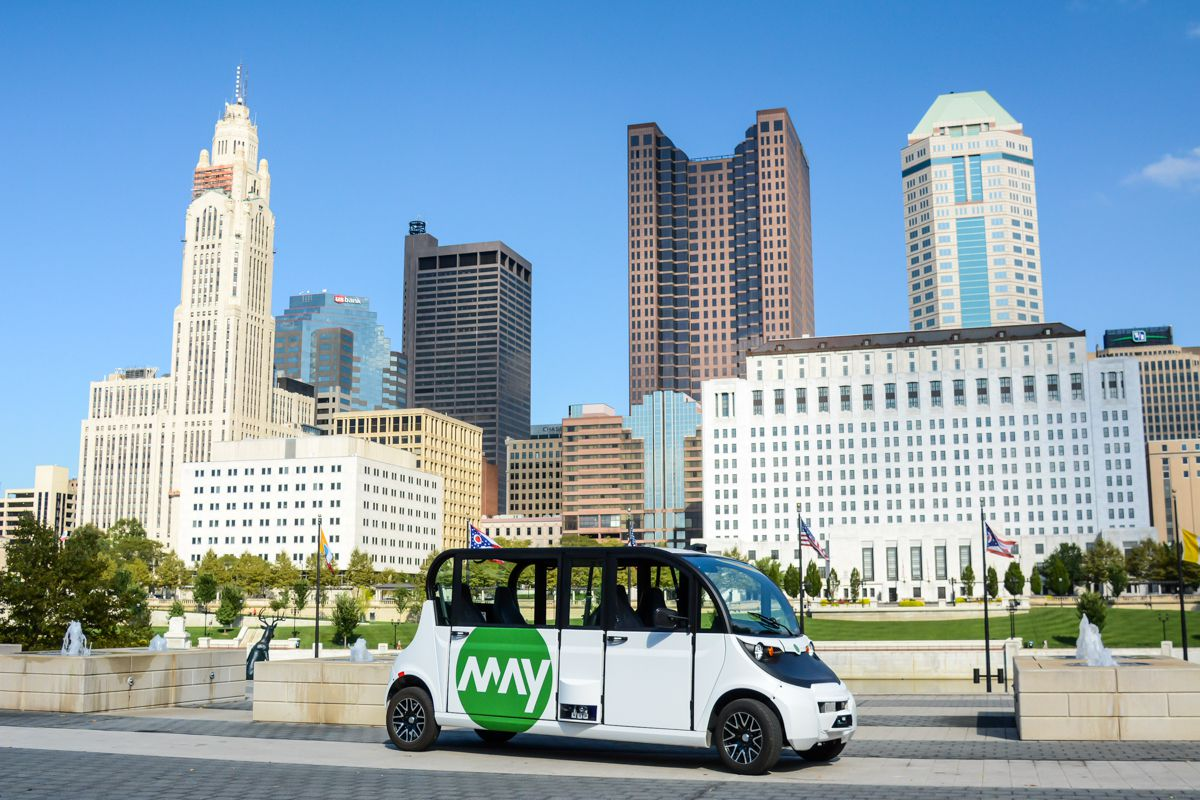 Autonomous Shuttle Tech Gets Test Run In Ohio Curbed