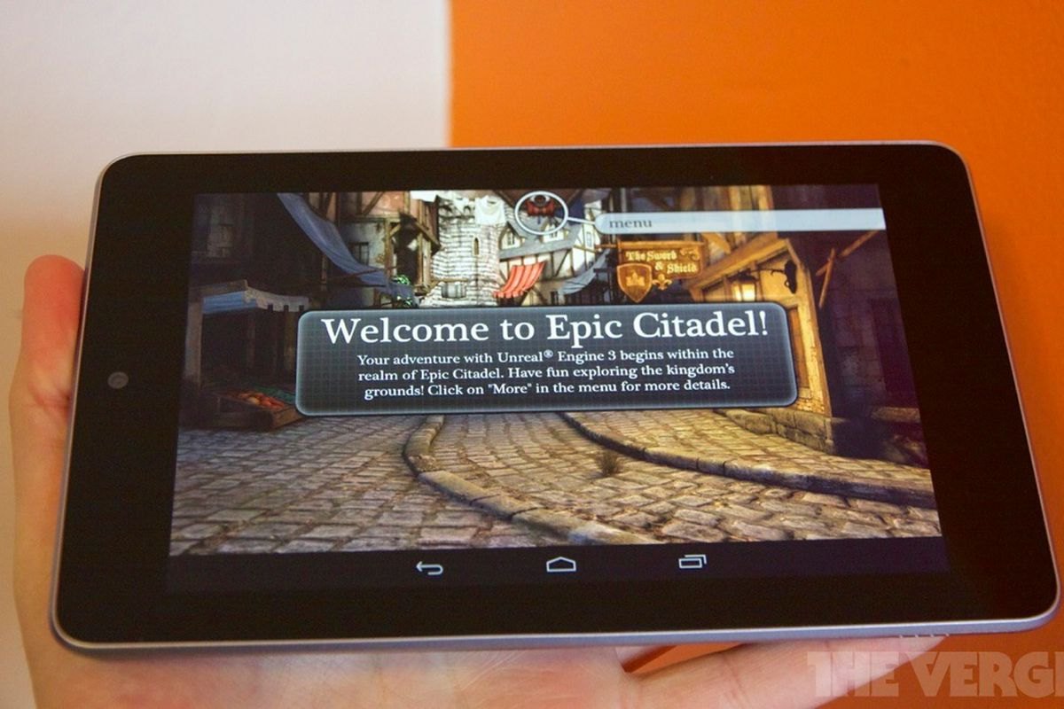 Epic Citadel' comes to Android today, but 'Infinity Blade' will stay