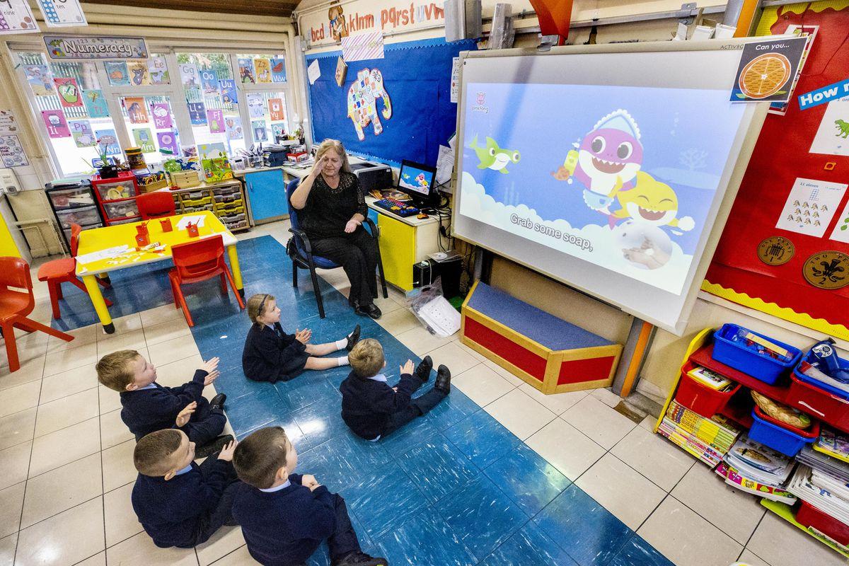 Schools go back in Northern Ireland