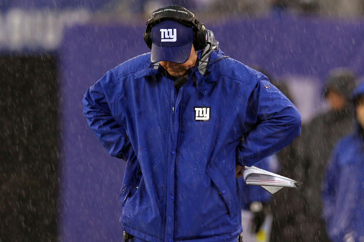 How far will Tom Coughlin go in a fight over offensive coordinator Kevin Gilbride?