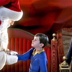 """Other holiday favorites included """"The Polar Express."""""""
