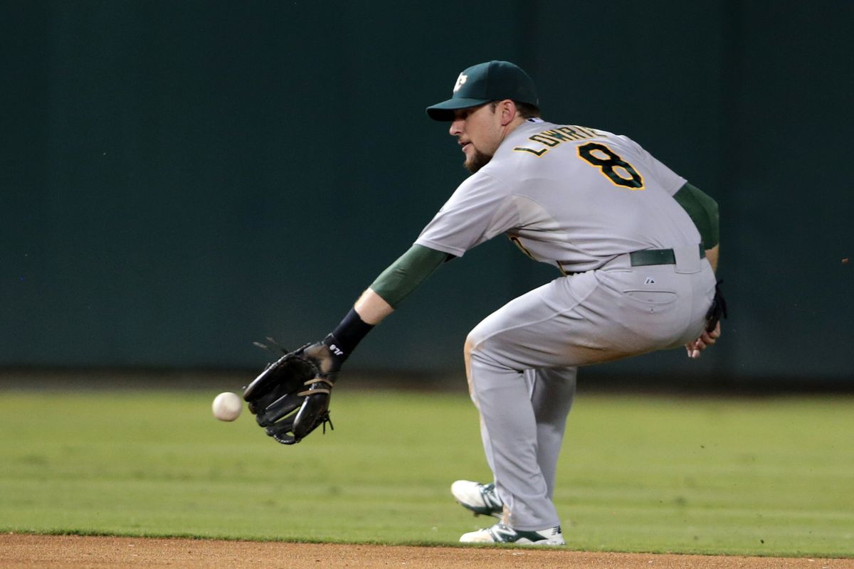 Jed Lowrie's comment after the season was not a backhanded compliment.