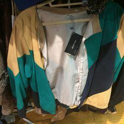Suede jacket, $88