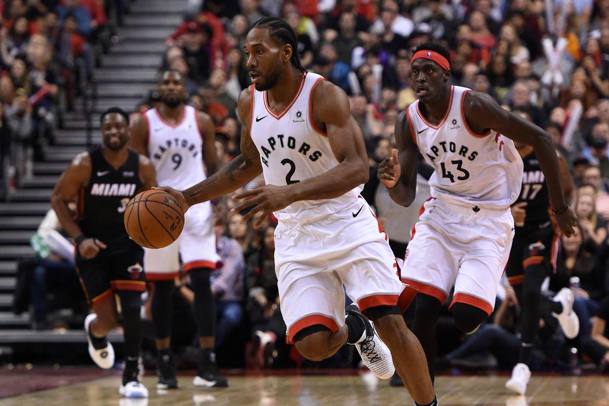 10addfd5d36 The Toronto Raptors 2018-19 Quarter-Season Report Card - Raptors HQ