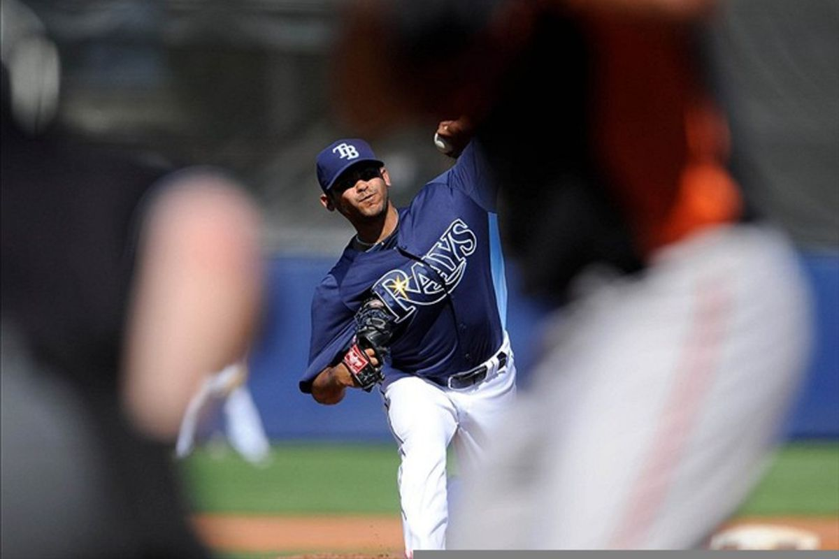 Alex Torres was a bright spot on a pretty miserable day down on the farm