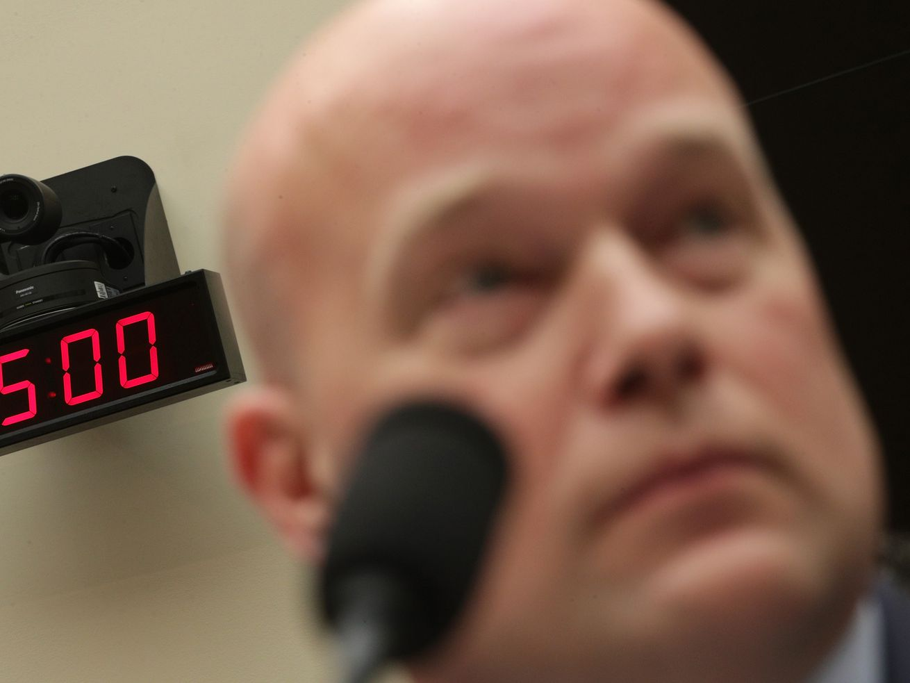 Acting Attorney General Matthew Whitaker testified before the House Judiciary Committee on Friday, February 8, 2019.