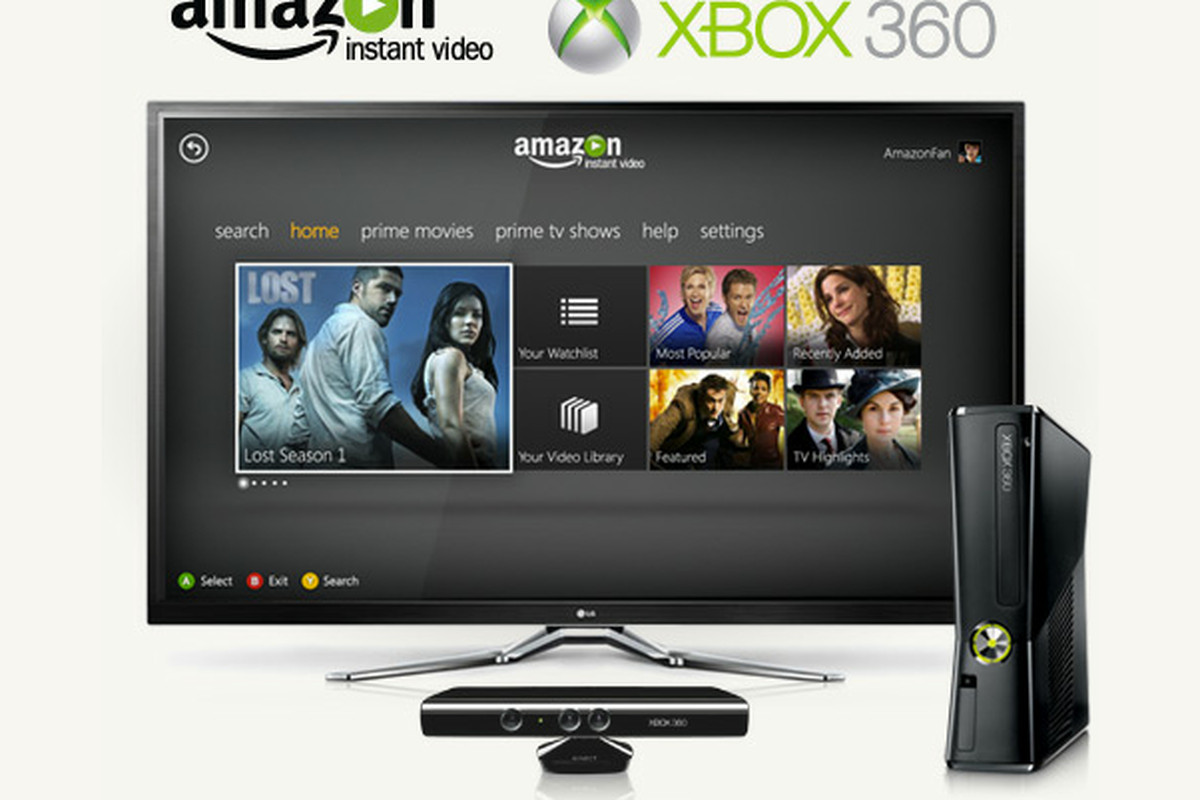 Amazon Releases Instant Video App For Xbox 360 With Prime