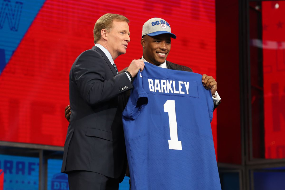 Saquon Barkley  NFL coach would  punch myself in the nuts  to draft ... 25dde55d4