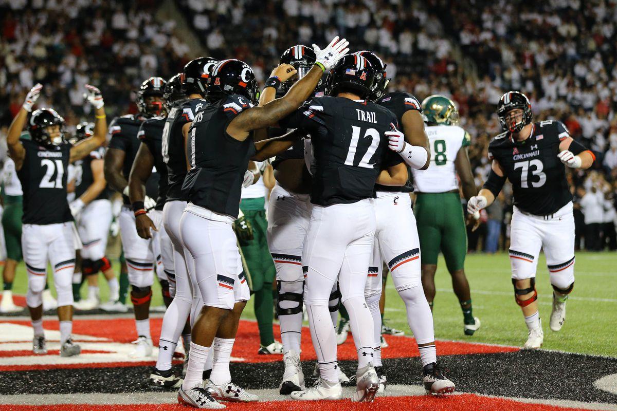 NCAA Football: South Florida at Cincinnati