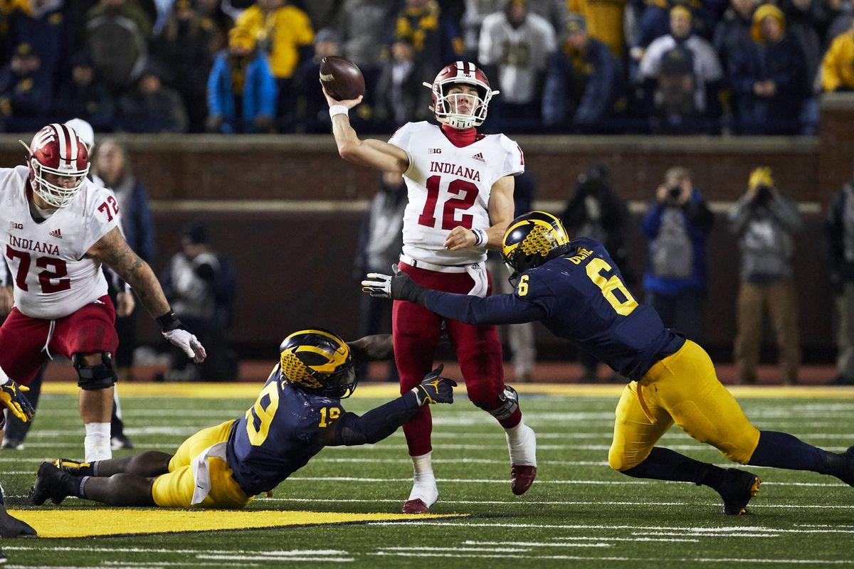 NCAA Football: Indiana at Michigan