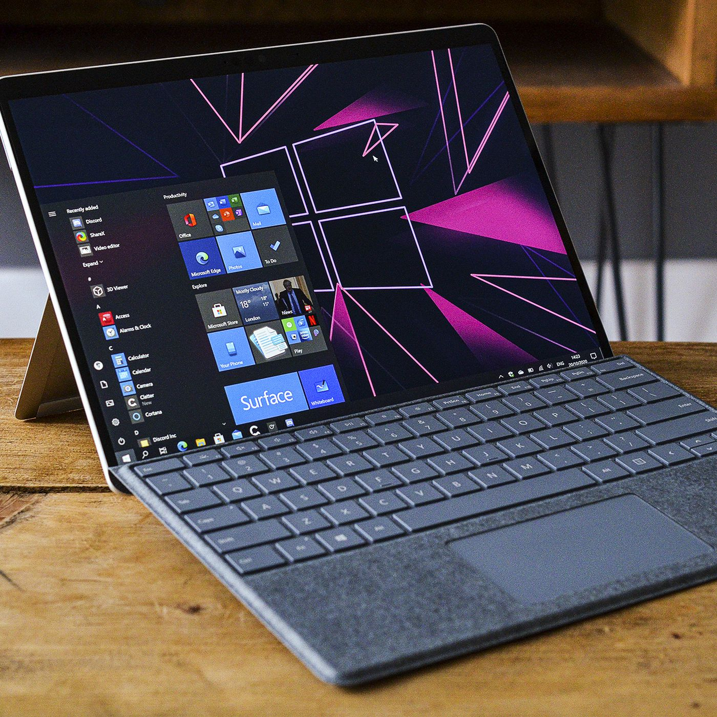 Microsoft Surface Pro X 2020 Review Arm Gets More Muscle The Verge