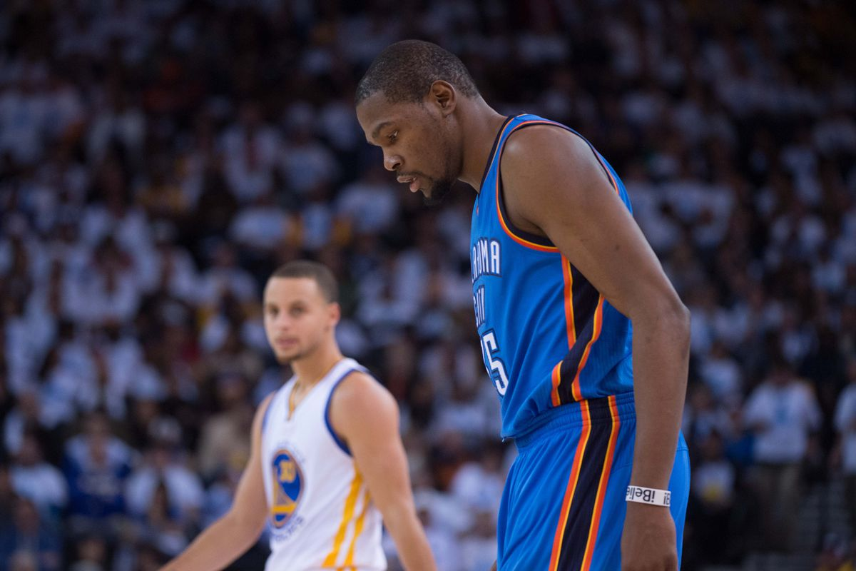 8aca5d99722 The NBA s nightmare of Kevin Durant signing with the Warriors is very real