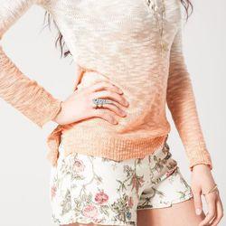 "<b>Flock</b> Blackbird Shorts, <a href=""http://www.flockboston.com/blackbird-shorts.html"">$62</a> (on sale)"