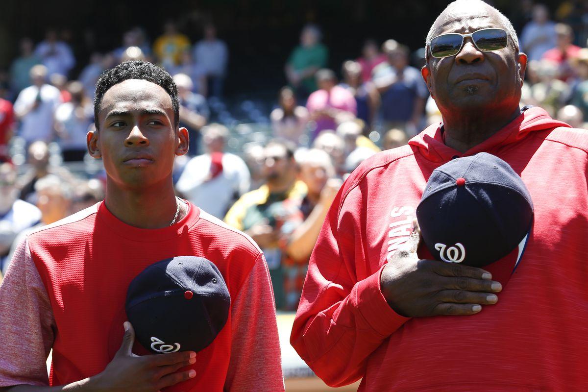 Washington Nationals v Oakland Athletics